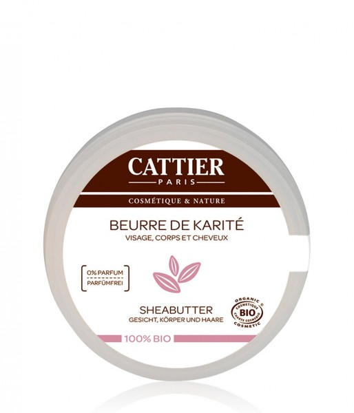 Cattier Sheabutter - 100% Bio