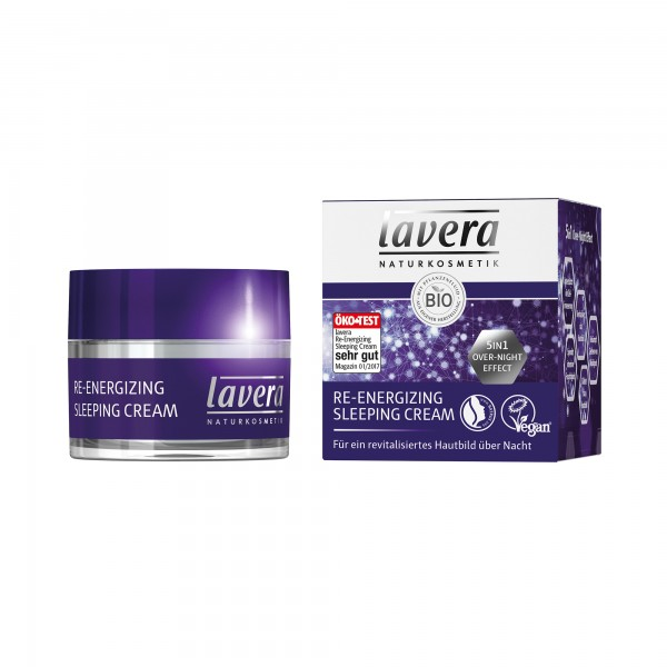 Lavera Energizing Sleeping Cream