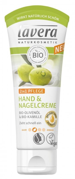 Lavera Hand- & Nagelcreme 2in1