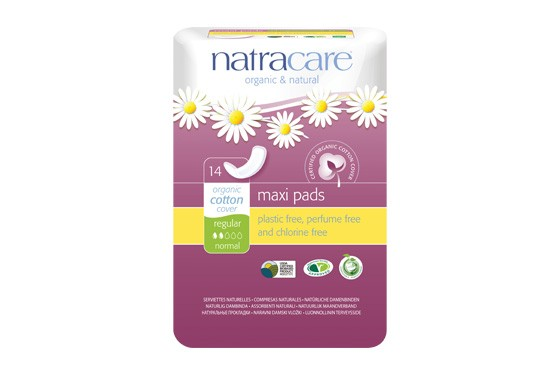 Natracare Damenbinden Maxi pads Regular