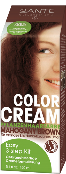 Sante Color Cream Mahogany Brown