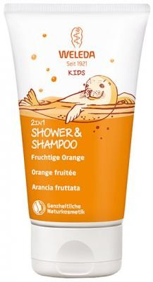 Weleda Kids 2in1 Shower Orange